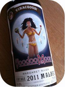 2011 Vinaceous Wines, Malbec Voodoo Moon, Margaret River, Australien