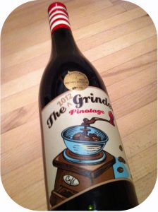 2012 The Grape Grinder, The Grinder Pinotage, Western Cape, Sydafrika