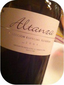2004 Bodegas Altanza, Altanza Reserva Especial, Rioja, Spanien
