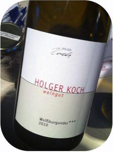 2010 Weingut Holger Koch, Weißburgunder Selection ***, Baden, Tyskland