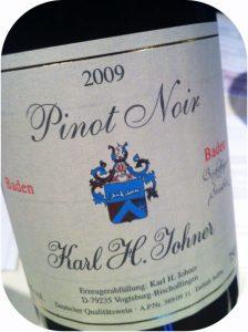 2009 Weingut Karl H. Johner, Pinot Noir Bischoffinger Steinbuck, Baden, Tyskland