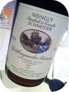 """2005 Weingut Schneider, Spätburgunder """"C"""" Rotwein Trocken, Baden, Tyskland"""