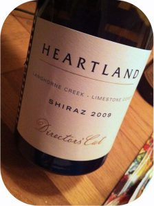 2009 Heartland Wines, Shiraz Directors' Cut, South Australia, Australien