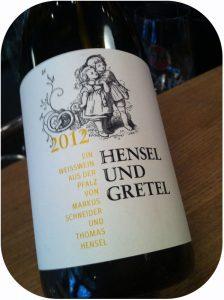 2012 Thomas Hensel & Markus Schneider, Hensel & Gretel Cuveé Weiswein Trocken, Pfalz, Tyskland