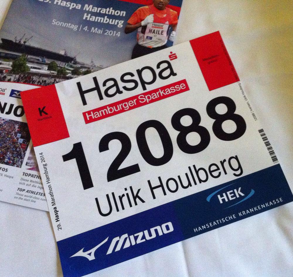 Mit første marathon