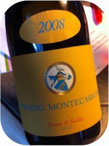 2008 Peter Vinding-Diers Montecarrubo, Rosso di Sicilia IGT, Sicilien, Italen