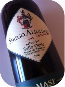 2010 Serego Alighieri, Poderi del Bello Ovile Rosso di Toscana IGT, Toscana, Italien