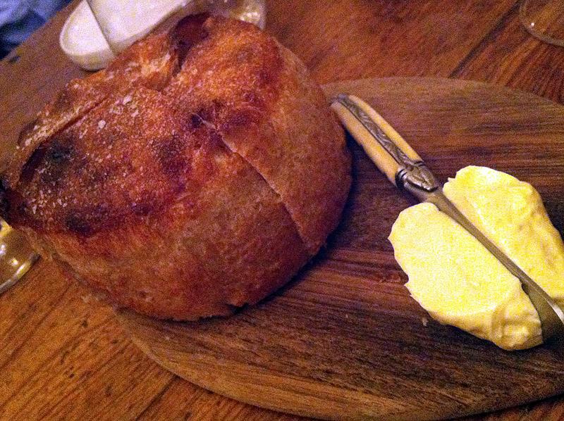 Brød og luftig smør