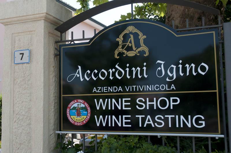 Accordini - Tasting