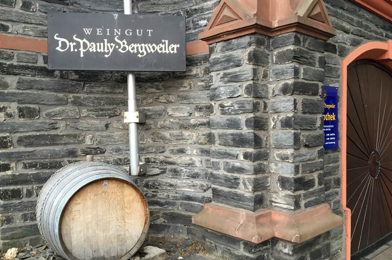 Dr Pauly Bergweiler - indgang
