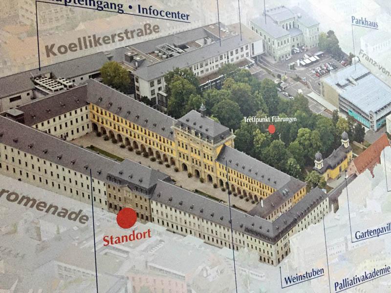 Juliusspital - oversigtsplan