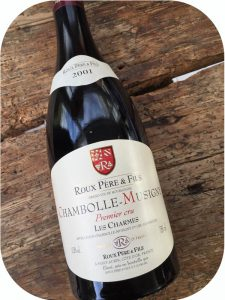 2001 Domaine Roux Père & Fils, Chambolle-Musigny Les Charmes Premier Cru, Bourgogne, Frankrig