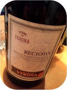 2011 Cantina di Verona, Recioto della Valpolicella, Veneto, Italien