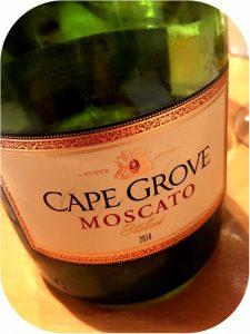 2014 Origin Wine, Cape Grove Moscato, Western Cape, Sydafrika