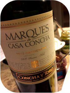 2012 Concha y Toro, Marques de Casa Concha Carmenere, Cachapoal, Chile