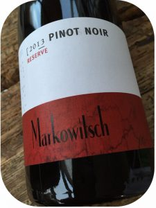 2013 Weingut Markowitsch, Pinot Noir Reserve, Carnuntum, Østrig
