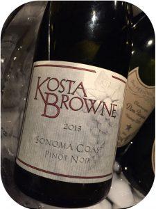 2013 Kosta Browne Winery, Sonoma Coast Pinot Noir, Californien, USA