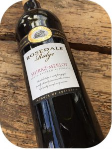 2014 Rosedale Ridge, Shiraz-Merlot, South Australia, Australien