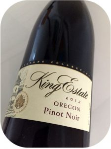 2012 King Estate Winery, Pinot Noir Signature Collection, Oregon, USA
