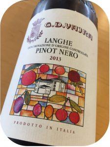2013 G.D. Vajra, Langhe Pinot Nero, Piemonte, Italien
