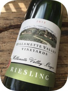 2013 Willamette Valley Vineyards, Riesling, Oregon, USA