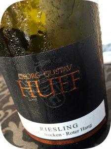 2015 Weingut Georg Gustav Huff, Riesling Roter Hang Trocken, Rheinhessen, Tyskland