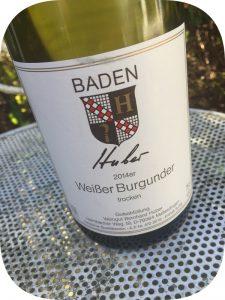 2014 Weingut Bernard Huber, Weißer Burgunder, Baden, Tyskland