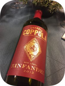 2013 Francis Ford Coppola Winery, Zinfandel Diamond Collection, Californien, USA