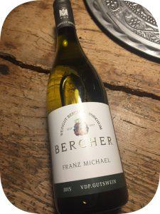 2015 Weingut Bercher, Cuveé Franz Michael Trocken, Baden, Tyskland