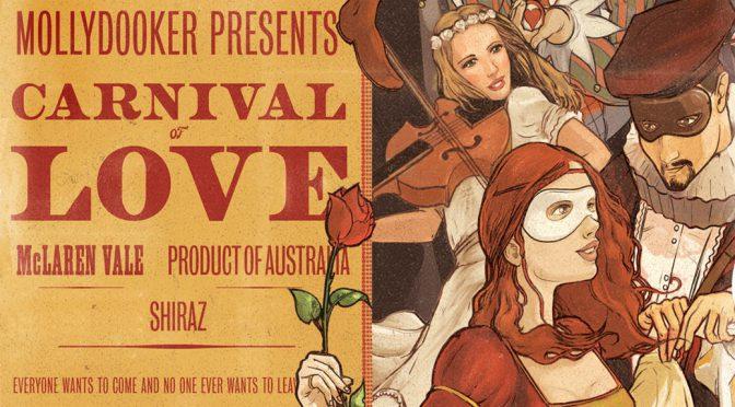 2014 Mollydooker, Carnival of Love Shiraz, McLaren Vale, Australien