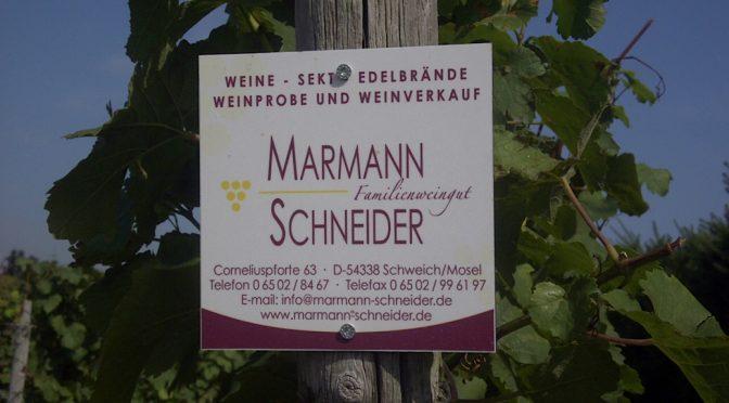 2014 Weingut Marmann-Schneider, Schweicher Annaberg Riesling Kabinett Trocken, Mosel, Tyskland