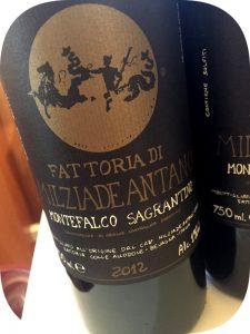 2012 Fattoria Colleallodole Milziade Antano, Montefalco Sagrantino, Umbrien, Italien