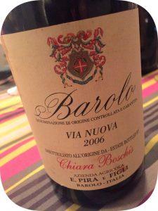 2006 E. Pira & Figli Chiara Boschis, Barolo Via Nuova, Piemonte, Italien
