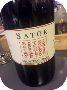 2014 Sator, Sator Montescudaio, Toscana, Italien