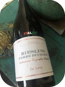 2016 Nicola Di Sipio, Riesling Terre di Chieti, Abruzzo, Italien