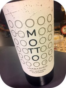 2014 Motto Wines, Unabashed Zinfandel, Californien, USA