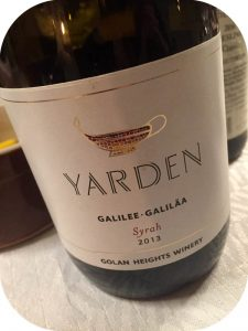 2013 Golan Heights Winery, Yarden Syrah, Israel