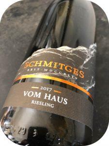 2017 Weingut Schmitges, RieslingVom Haus, Mosel, Tyskland