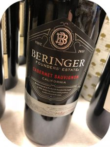2013 Beringer Vineyards, Founders Estate Cabernet Sauvignon, Californien, USA