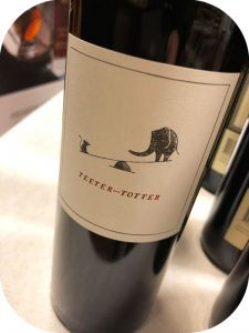 2014 Teeter-Totter Wines, Cabernet Sauvignon, Californien, USA