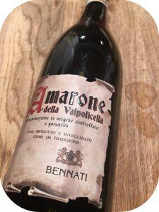 2013 Bennati, Amarone delle Valpolicella, Veneto, Italien