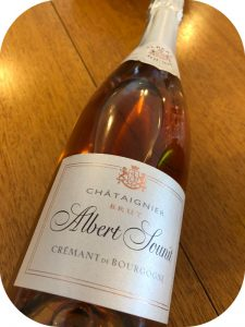 2015 Albert Sounit, Crémant de Bourgogne Châtaignier Rosé Brut, Bourgogne, Frankrig