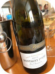 2015 Domaine Bernollin, Montagny 1. Cru Les Chaniots, Bourgogne, Frankrig