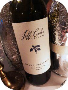 2013 Jeff Cohn Cellars, Hayne Vineyard Zinfandel, Californien,