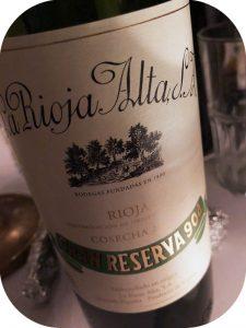 2007 La Rioja Alta, Gran Reserva 904, Rioja, Spanien
