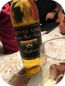 2012 Château Lange, Sauternes Cuvée Haut-Sauhuc, Bordeaux, Frankrig