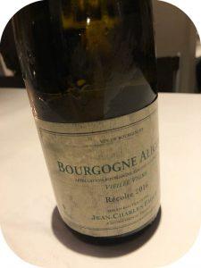 2016 Domaine Jean-Charles Fagot, Bourgogne Aligote, Bourgogne, Frankrig