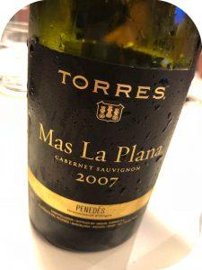 2007 Miguel Torres, Mas La Plana, Penedès, Spanien
