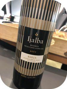 2011 Viña Ijalba, Reserva Selección Especial, Rioja, Spanien