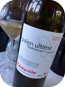 2016 Domaine de Cherouche, Païen Ultime, Valais, Schweiz
